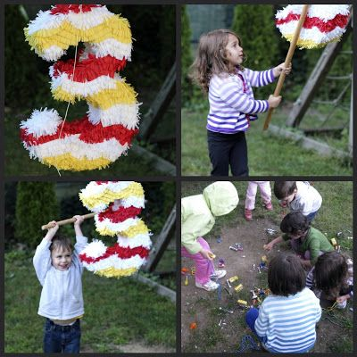No. 3 piñata! See Suzy Spin: O+S+CAR Party
