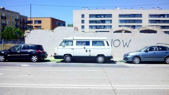 Barcelona.  May 2016. #vanlife #adventuremobile #westfalia #vw #vwcampervan #vwcamper #campervan #campvibes #vanago https://t.co/5GvgtA18aS