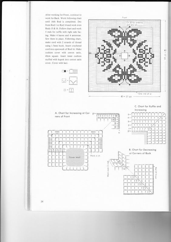 REGINA RECEITAS DE CROCHE E AFINS: almofadas