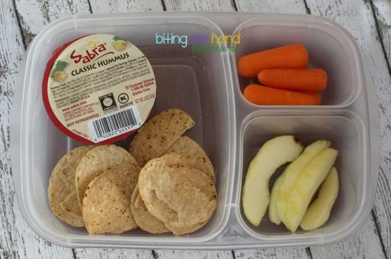 Biting The Hand That Feeds You: Kid-Friendly School Lunch Ideas!
