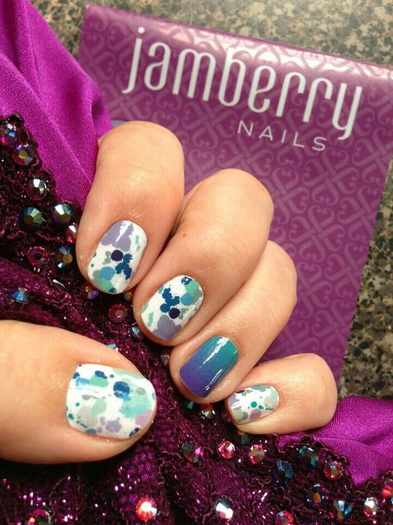 #NOTD #NailArt #NailDesign #Manicure #Pedicure #Nails #Jamberry #JamberryNails #JamberryNailWraps #ilovemyjamberrynails http://www.AmandaKingsley.jamberrynails.net