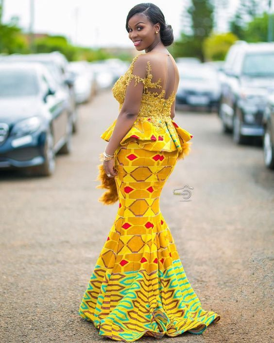 Latest Aso Ebi Styles For Wedding Guest Latest African Fashion Dresses African Attire African Print Fashion Dresses