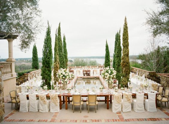 Hidden in Florida, you won't feel like you're in the states at the Bella Collina estates! Everything feels like it is straight out of Tuscany!