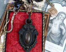 Gutta Percha Necklace, A Victorian Edwardian Treasure from the Past, by…