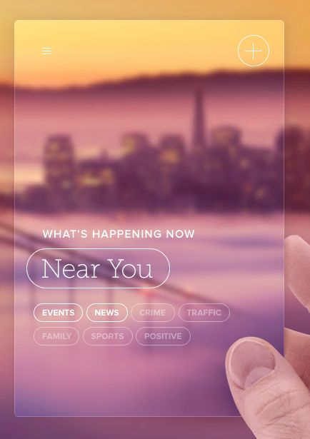 Circle App helps you find out whats happening around you. http://circleapp.com/