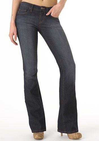 Piper's Closet Flap-Pocket Bootcut Jean