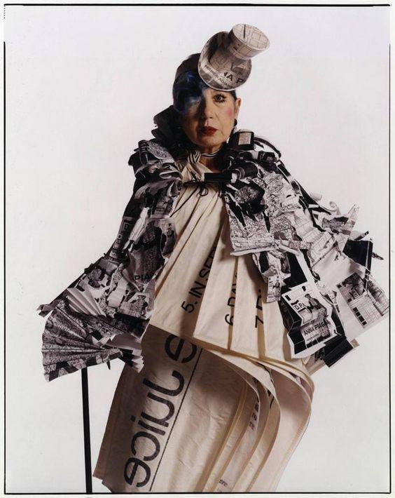 The late Anna Piaggi will remain a fashion legend http://www.2dmblogazine.it/2012/08/anna-piaggi-the-queen-of-extraordinary/