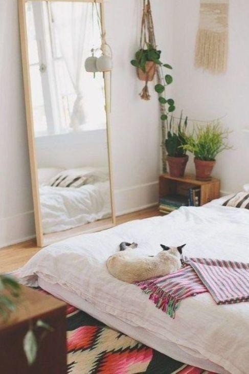 Fabulous Bohemian Bedroom Decor Ideas 06 Home Decor Bedroom Mattress On Floor Bohemian Bedroom Decor