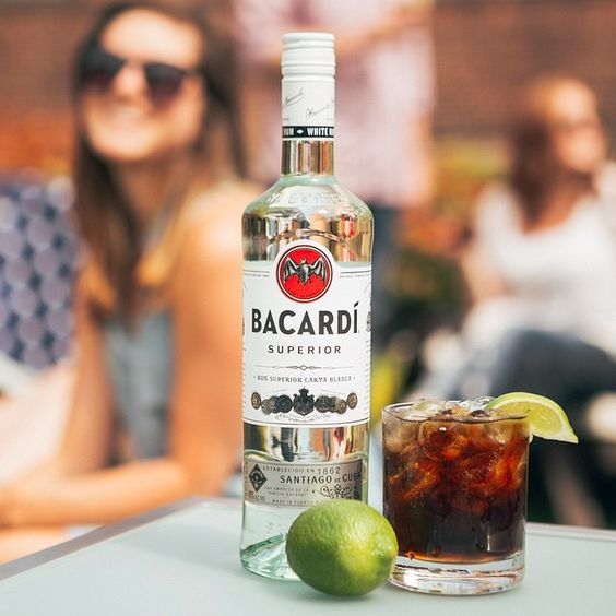 Citrus. Cola. BACARDI. #4thofJuly  here we come.