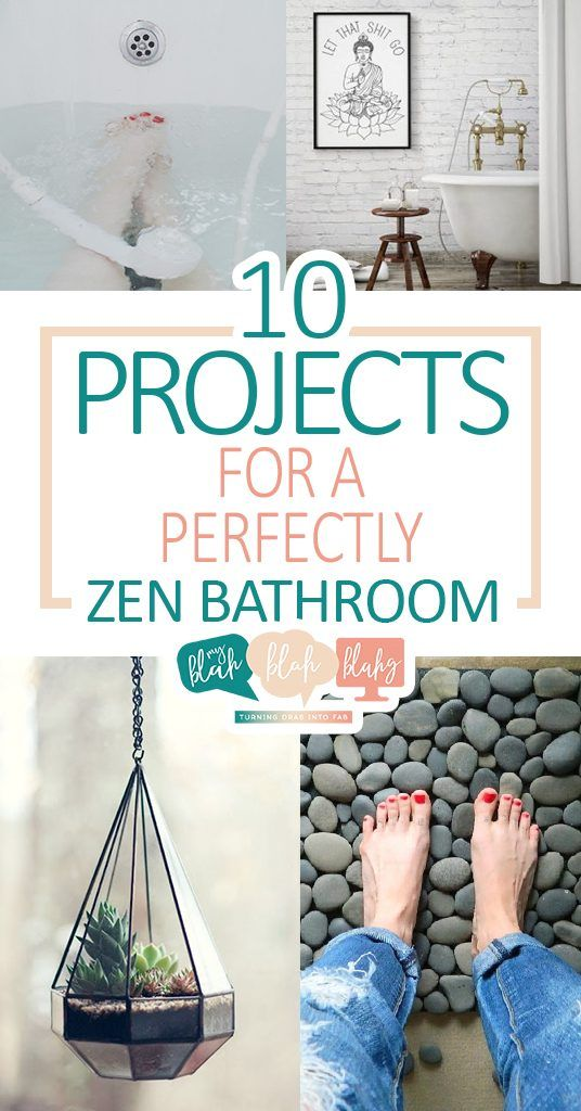 10 Projects For A Perfectly Zen Bathroom With Images Zen