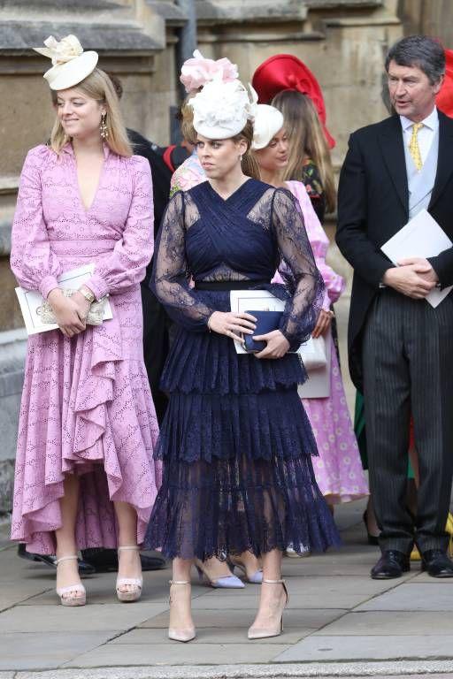 Hochzeit Von Gabriella Windsor Und Thomas Kingston Konigin Kleid Prinzessin Beatrice Koniglicher Stil