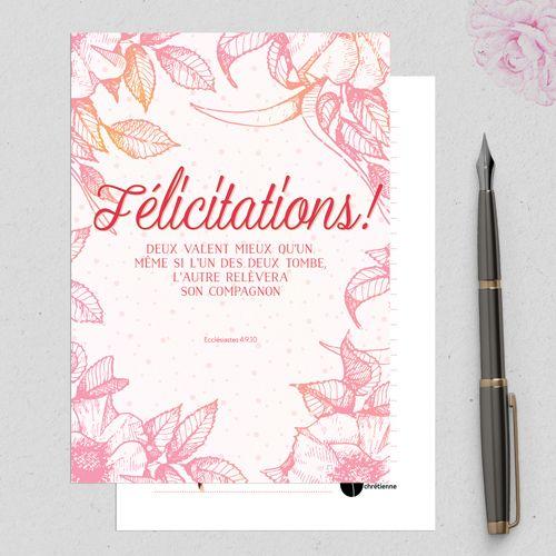 explorez cartes mariage fleurs et plus encore - Formule Felicitation Mariage