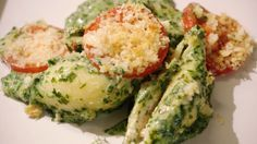 Eén - Dagelijkse kost - Gevulde schelpen met gerookte zalm, ricotta en spinazie | Eén