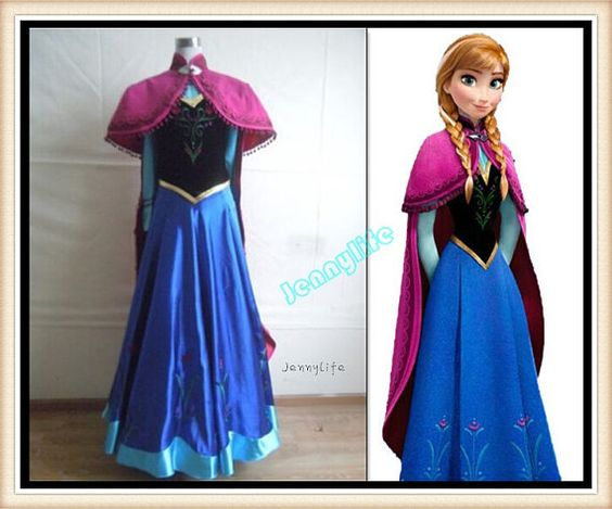 Hey, I found this really awesome Etsy listing at https://www.etsy.com/listing/191196697/frozen-anna-dress-disney-princess-anna: