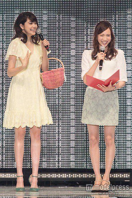 枡田絵理奈アナと笹川友里アナ