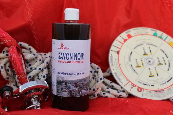 Savon Noir Gamme Accastillage Solibio