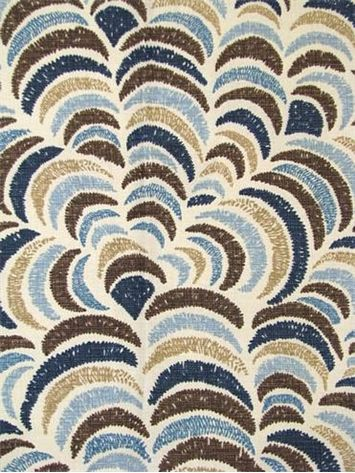 sulka bluebrown john robshaw designer fabric blockprint textiles perfect drapery fabric or light use upholstery fabric cotton linen brown linen fabric lighting