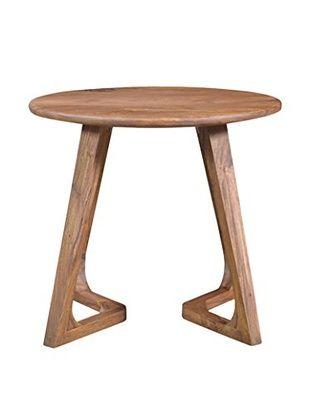 CDI Furniture Metropolitan Collection Side Table, Brown