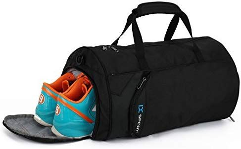 Amazon Com Inoxto Fitness Sport Small Gym Bag With Shoes Compartment Waterproof Travel Duffel Bag For Women And Men Spor Mens Gym Bag Small Gym Bag Gym Bag