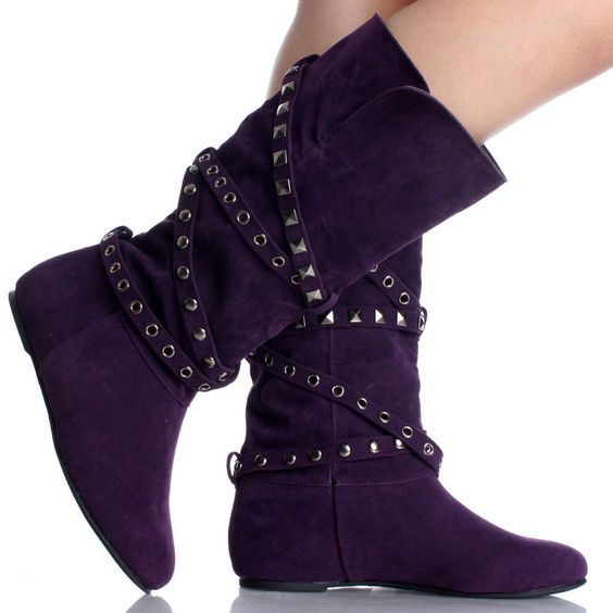 Cute womens shoes, Purple flats and Cute woman on Pinterest