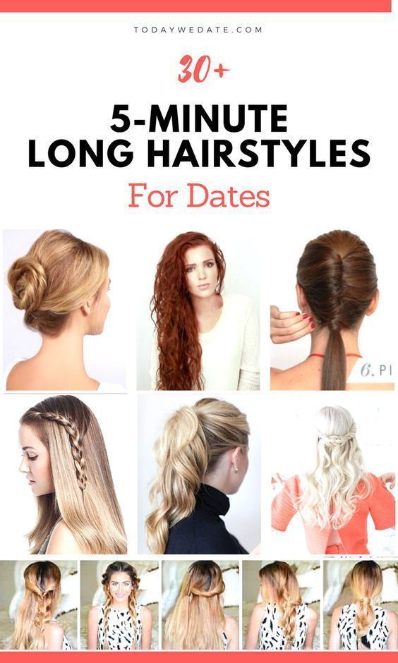 30 5minute Long Hairstyles For Your Perfect Date Night Out Hairstyles Date Night Hairstyles First Date Hairstyles Night Hairstyles Hair Styles Date Night Hair