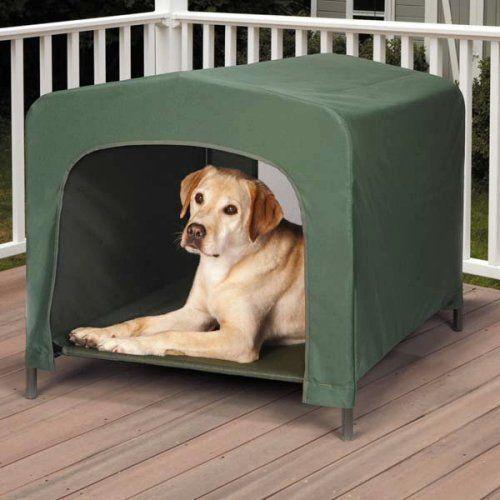Guardian Gear Pet Retreat Portable Dog House Large Green