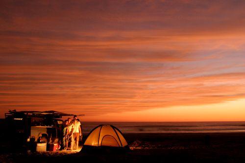 Beach Camping at Los Cerritos