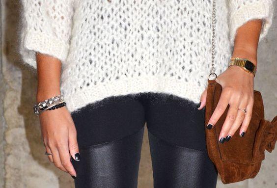 #mercredie #blog #mode #beaute #pull #jumper #wool #white #cream #barnabe #mesdemoiselles #blanc #sac #bag #clutch #nubuck #geneva #boots #ersatz #ash #squaw #detail #casio #vintage #montre #watch #black #nails #nailart #tregging #leather #cuir