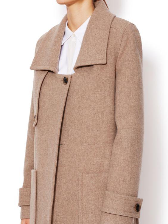 Bambi Wool Coat from J Brand on Gilt