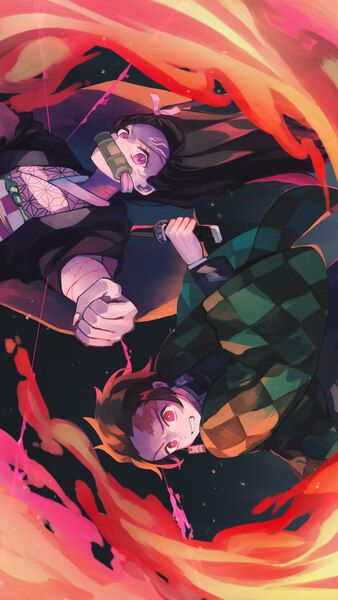 Tanjiro Nezuko Kimetsu No Yaiba 8k Hd Mobile Smartphone And Pc Desktop Laptop Wallpaper 7680x4320 3840x2160 1920x1080 Anime Wallpaper Anime Demon Anime Best anime wallpaper for smartphone