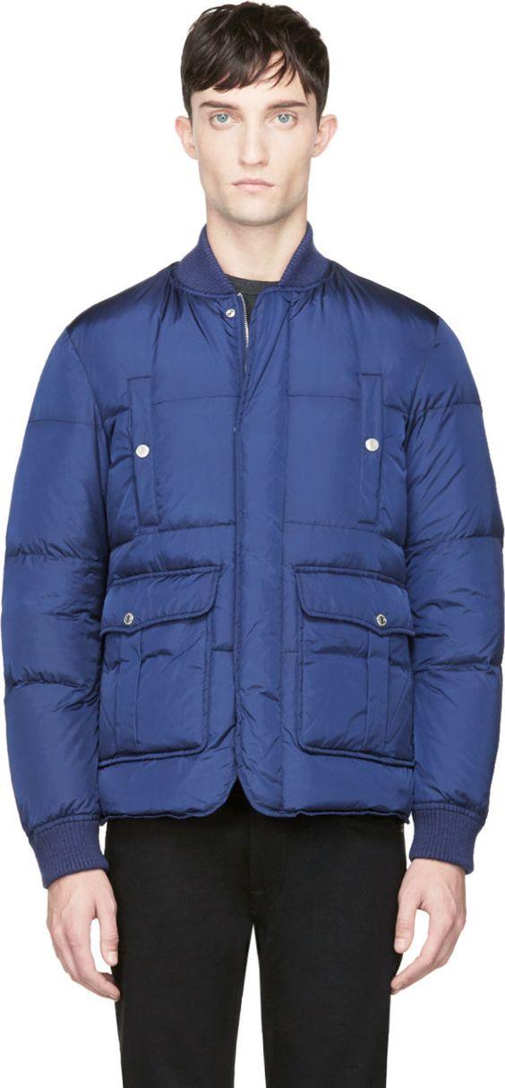 Black Matte Down Jacket | Coats UX/UI Designer and Bomber jackets