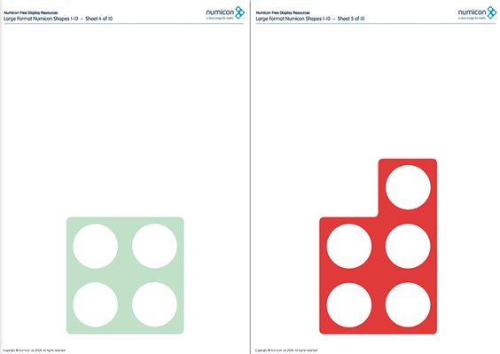 Here's A Large Set Of Printable Numicon Shapes.