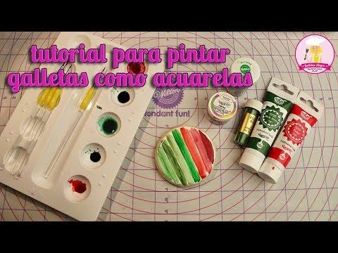 Como Pintar Galletas Royal Icing Galletas Alegra Youtube Como Pintar Arte De Azúcar Galletas