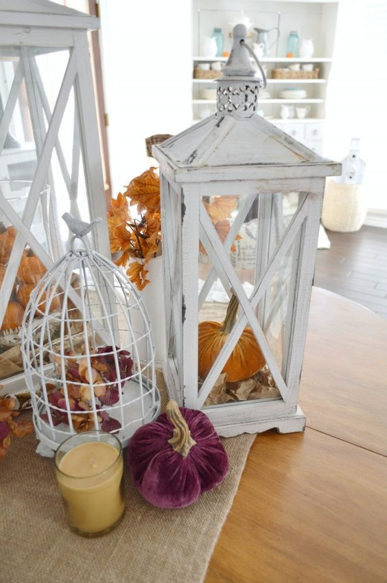 Something new pumpkins and bags on pinterest for Home goods fall decorations