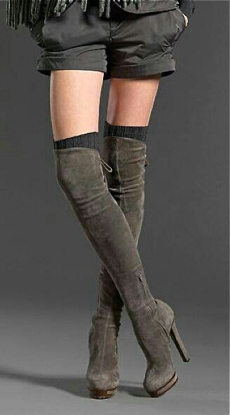 Cute thigh high boots | Boots | Pinterest