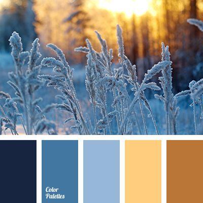 blue-color, brown color, colors of winter, dark-blue, heaven, winter color palette, winter color scheme, winter colors, winter palette, winter palette 2016, yellow color.
