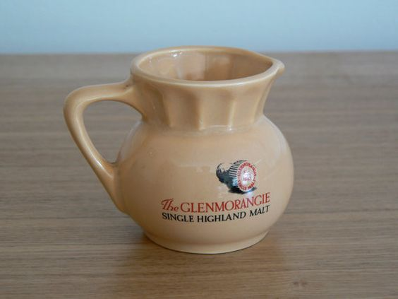 Glenmorangie Water Jug. Nicely decorated with a by CoopsRetroBar