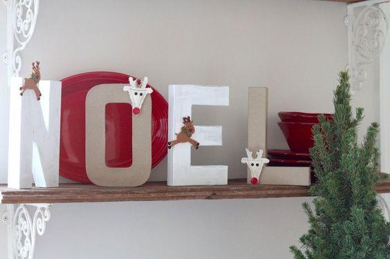 DIY Holiday Sign