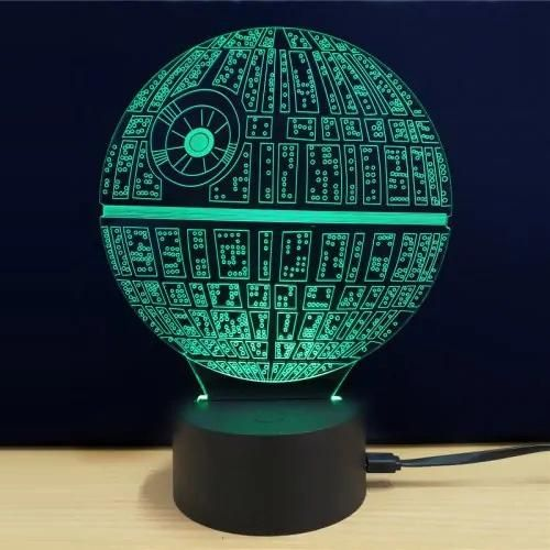 Star Wars 3d Led Night Light 3d Led Night Light Star Wars Lamp 3d Led Light