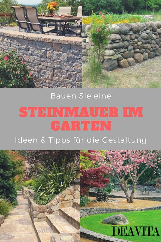 Natursteinmauer Pinterest
