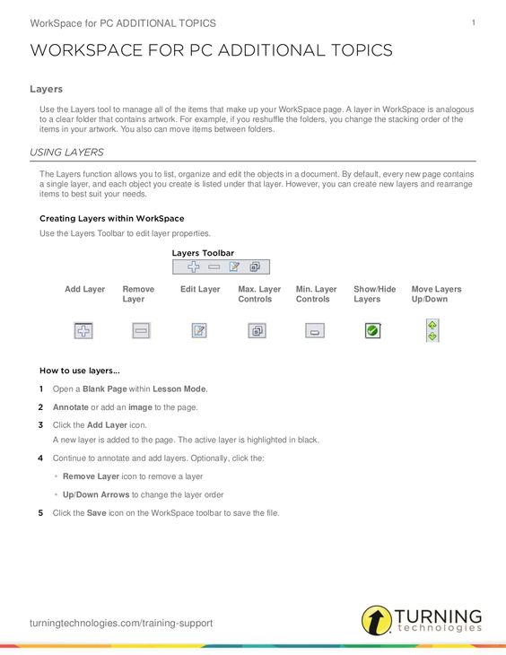 Work space additiona ltopics by William  McIntosh via slideshare
