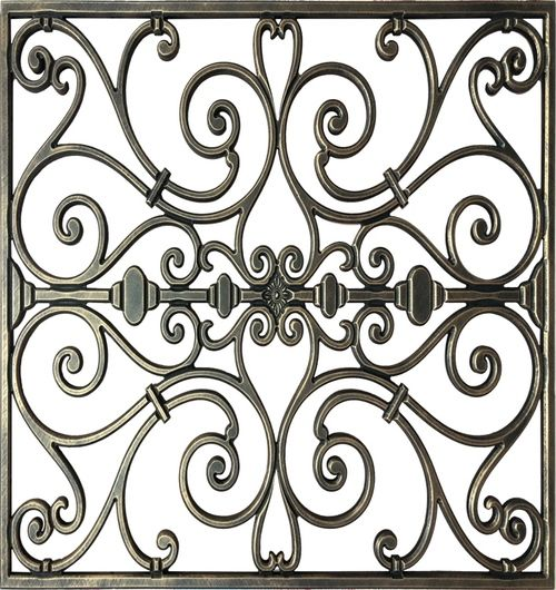 Cian S Decorative Iron Wall Art Ceiling Art Faux Iron