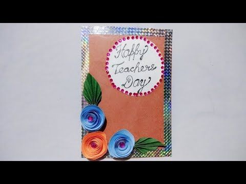 949 Diy Teachers Day Card Handmade Teachers Day Card Diy Greeting