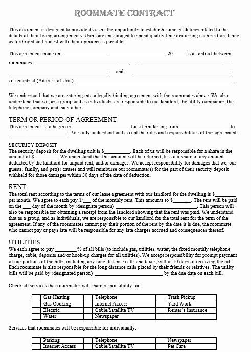 Free Download Blank Contract Agreement Form Sample For Company