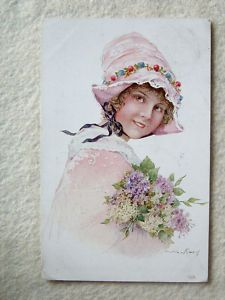 Picture of young girl in early 1900s!