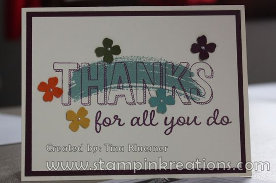 For Being You, Stampin' UP!, Work of Art, www.stampinkreations.com