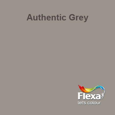 flexa creations kleur authentic grey verfkleuren
