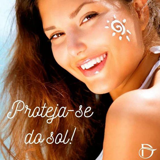Usar todos os dias o protetor solar, ajuda a proteger a sua pele dos raios mais agressivos do sol. Mesmo no inverno, ele é um super amigo da pele. #FicaaDica