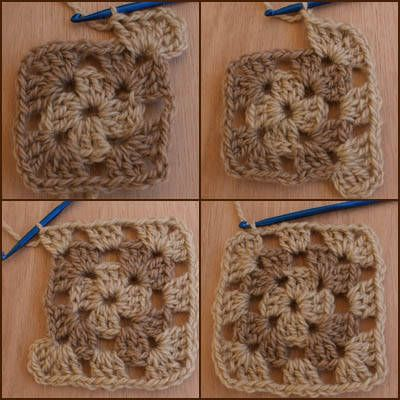 basic granny square crochet, always wanted to learn how to do this!