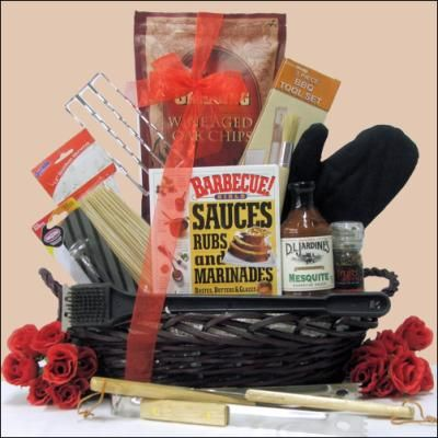 Father's Day Gift Idea: Grilling Gift Basket for Dad   Gift Ideas and Fun Tips for You!